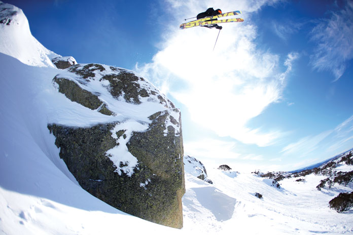 2014 Snowmageddon at Perisher made every boulder sendable!