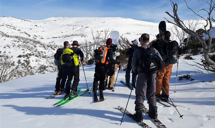 Learning route selection on an AST 1 course with Alpine Access in Australia