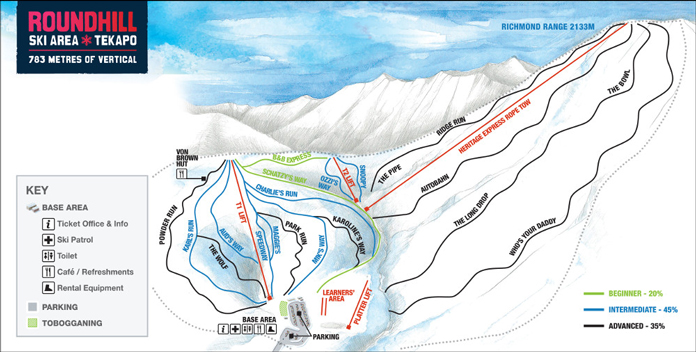 Roundhill Trail Map