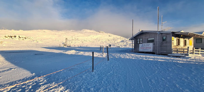Ben Lomond Ski Lifts ticket office