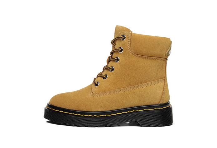 Everau Explorer Kids all-weather boots chestnut colour