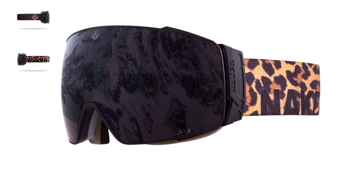 NAKED Optics Storm Big Cat goggles with black lens
