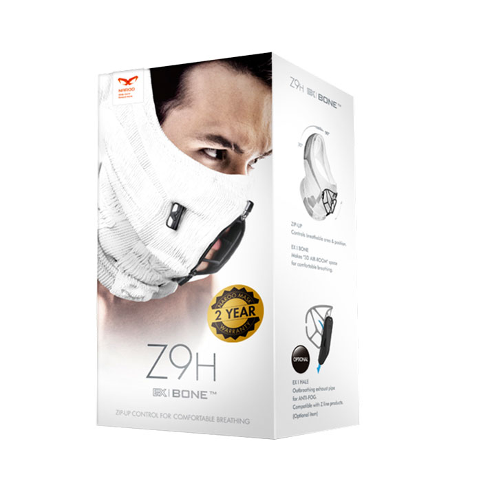 Naroo Mask Z9H winter mask package box
