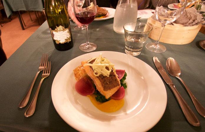 Dinner at Ohau Lodge