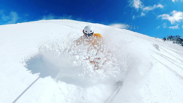 Great spring snow 21/9/21 at Perisher